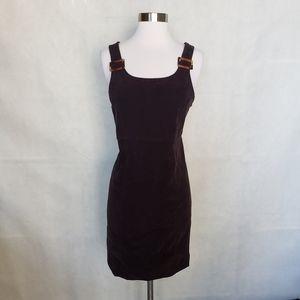 { jessica howard } vintage brown jumper dress